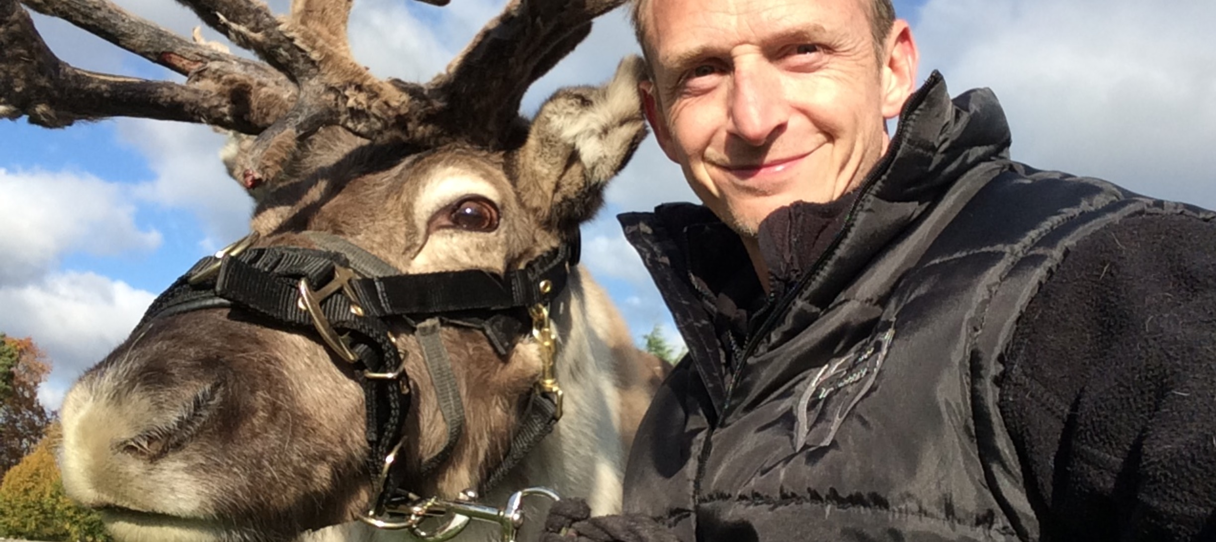 The Reindeer Whisperer Phil